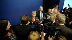 Министр иностранных дел Швеции Маргот Валльстрём. Архивное фото