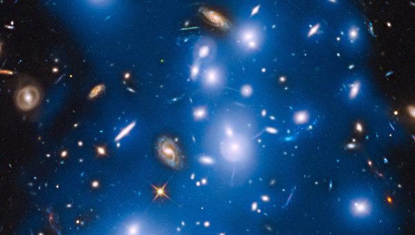 Галактическое скопление Пандоры (Abell 2744)