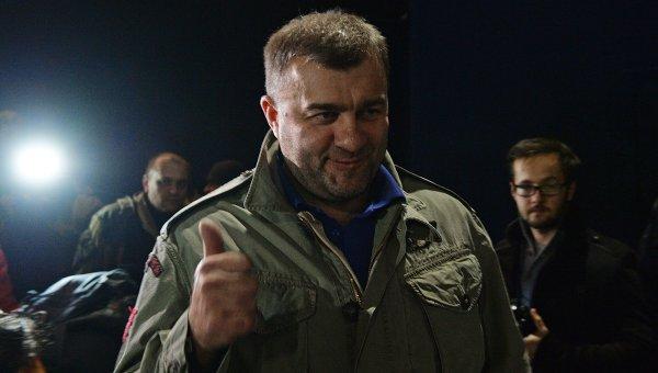 Актер Михаил Пореченков посетил Донецк. Архивное фото.
