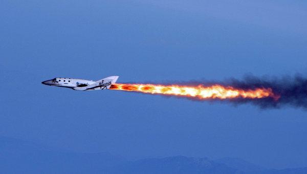 Суборбитальный корабль SpaceShip Two компании Virgin Galactic. Архивное фото