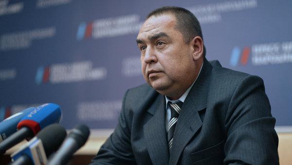 Глава Луганской народной республики Игорь Плотницкий, архивное фото