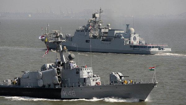 Корабли ВМС Индии. Архивное фото