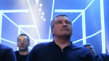 Глава Крыма Сергей Аксенов, архивное фото