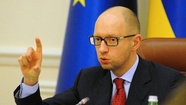 Экс-премьер-министр Украины Арсений Яценюк. Архивное фото