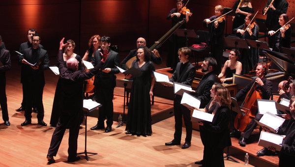 Французский ансамбль барочной музыки Les Arts Florissants. Архивное фото