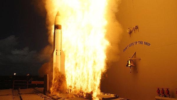 Американская ракета-перехватчик SM-3, архивное фото