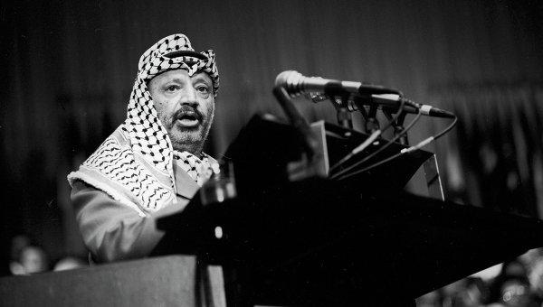 Председатель Исполнительного комитета Организации освобождения Палестины Ясир Арафат. Архивное фото