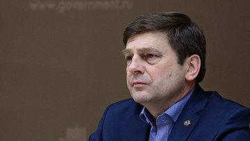 Руководитель Российского космического агентства (Роскосмос) Олег Остапенко. Архивное фото