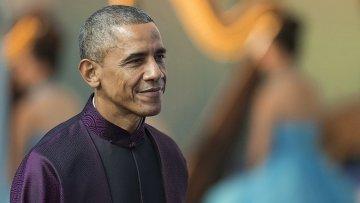 Президент США Барак Обама  на саммите АТЭС в Пекине