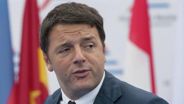 Председатель Совета министров Итальянской Республики Маттео Ренц. Архивное фото
