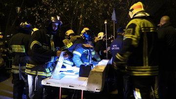 Пожарные ликвидировали возгорания в жилых домах Москвы из-за скачка давления газа