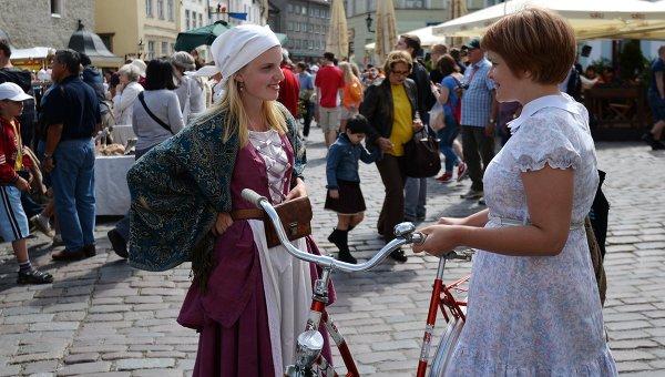 Участники и гости фестиваля в Таллине