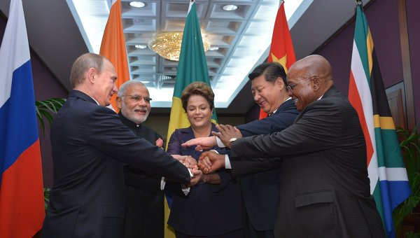 Лидеры стран-членов БРИКС на саммите Группы двадцати