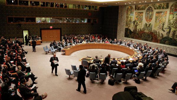 Подготовка к заседанию Совбеза ООН. Архивное фото