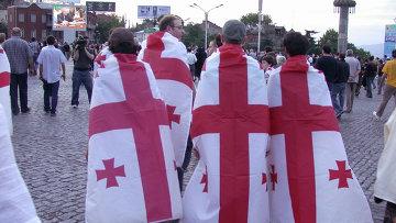 Митинг Стоп Россия! в Тбилиси
