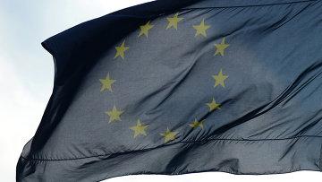 Флаг Евросоюза, архивное фото