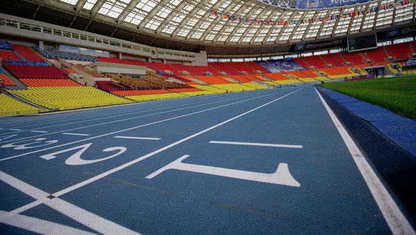 Стадион перед чемпионатом мира по легкой атлетике. Архивное фото