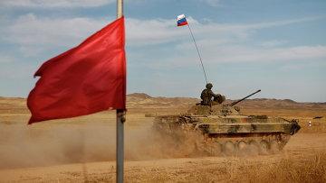 Российско-китайские учения. Архивное фото