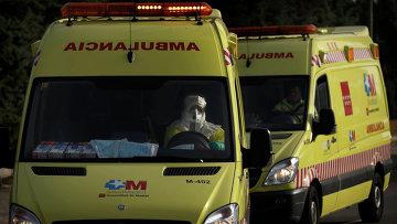 Водитель скорой помощи. Архивное фото