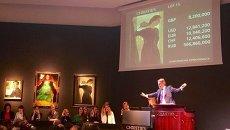 Картина художника Валентина Серова Портрет Марии Цетлин продана на аукционе Christie's