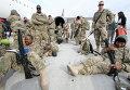 Американские военные, прибывшие из афганского города Кандагар