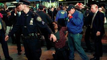 Акции протеста против решения суда в Нью-Йорке