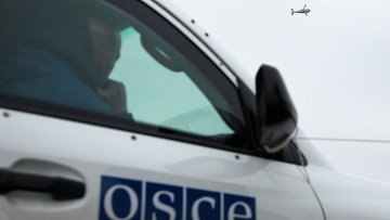 Наблюдатели ОБСЕ на Украине, архивное фото