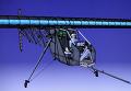 Рисунок самолёта на солнечных батареях