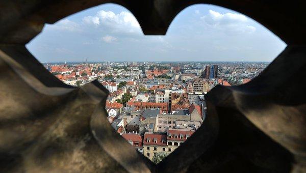 Польша. Вроцлав. Архивное фото