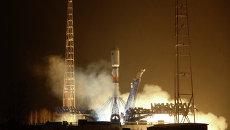 Запуск ракеты-носителя с новым аппаратом системы Глонасс. Архивное фото