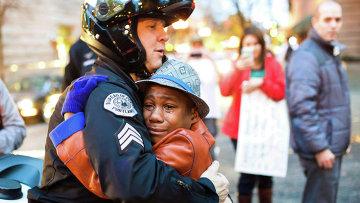 Сержант полиции в Портленде, архивное фото