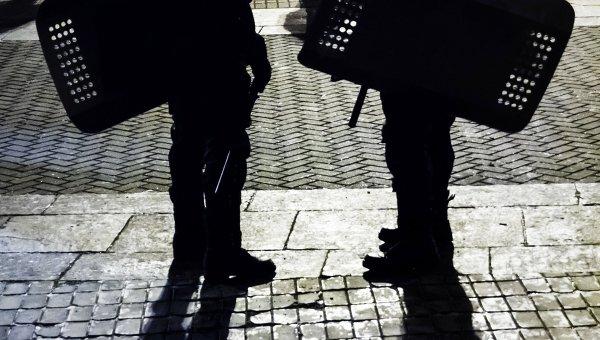 Сотрудники правоохранительных органов в Киеве. Архивное фото