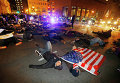 Протесты в Нью-Йорке, США