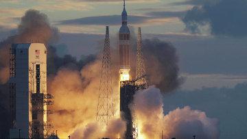 Запуск космического корабля Orion. Архивное фото