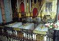 Гробницы членов династии Романовых - Елизаветы I, Екатерины I, Петра I