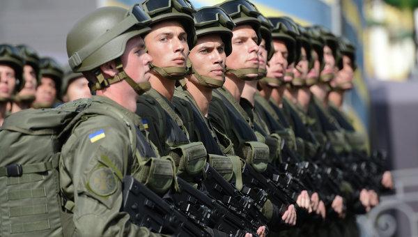 Военнослужащие Украины, архивное фото