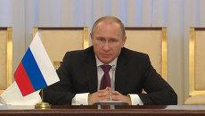 Путин на встрече с Каримовым перечислил сферы сотрудничества Узбекистана и РФ