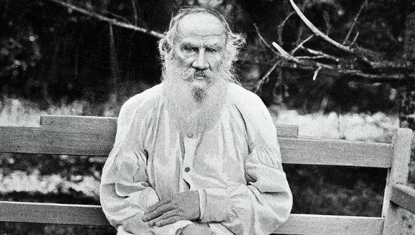 Писатель Лев Толстой. Архивное фото
