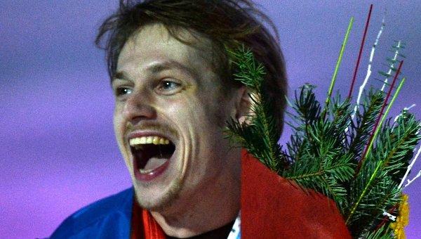Россиянин Сергей Воронов, завоевавший бронзовую медаль в мужском одиночном катании