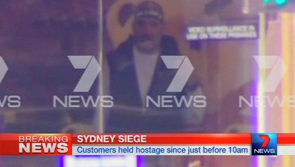 Стоп-кадр с предполагаемым преступником в Сиднее