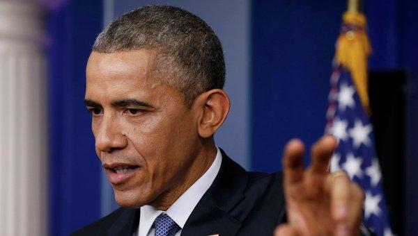 Президент США Барак Обама отвечает на вопросы на ежегодной пресс-конференции, 19 декабря 2014