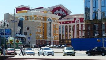 Города России. Саранск. Архивное фото
