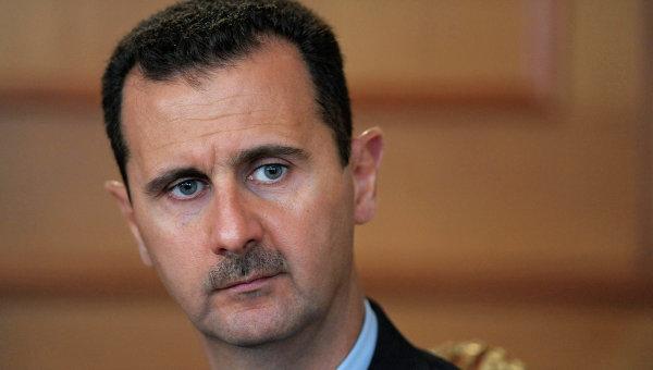 Встреча президентов России и Сирии. Архивное фото
