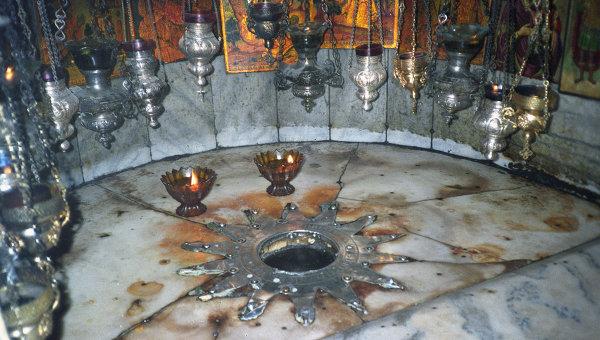 Храм Рождества Христова в городе Вифлеем. Архивное фото