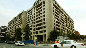Главное здание Международного валютного фонда в Вашингтоне. Архивное фото