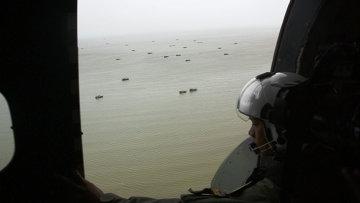 Спасательная операция в районе крушения самолета AirAsia
