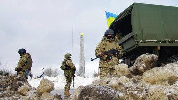 Бойцы Нацгвардии Украины в Одессе, 5 января 2015