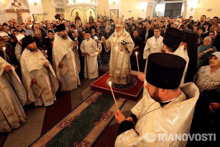 Празднование Рождества в регионах России