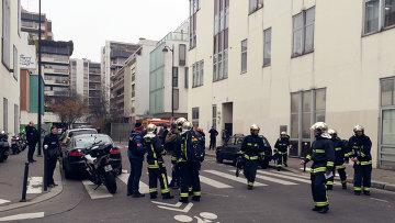 Вблизи офиса издания Charlie Hebdo. Архивное фото