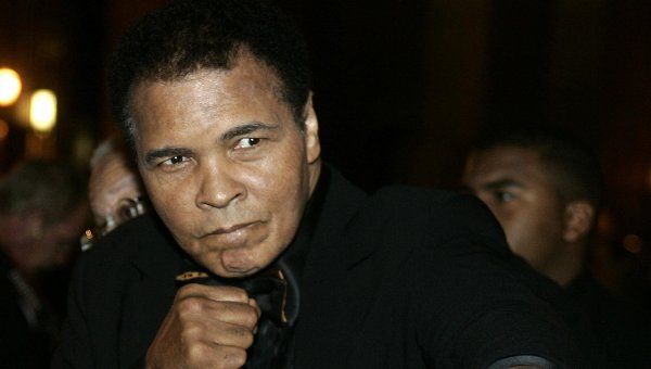 Легендарный американский боксёр Мохаммед Али (Кассиус Маркеллус Клэй). Архивное фото